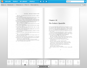 Screenshot of Issuu